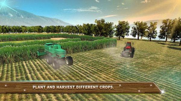 农业拖拉机3D图2