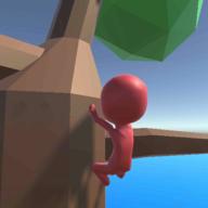 抖音小人爬树3D