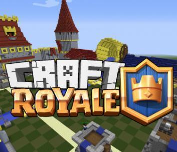 我的世界1.11.2皇室戰爭Craft Royale mod