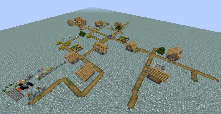 我的世界1.7.10钻石大陆生存地图图2