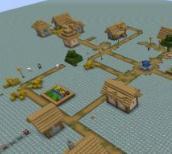 我的世界1.7.10钻石大陆生存地图
