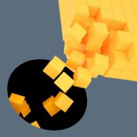 黑洞吃方块
