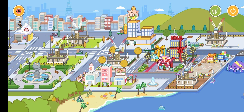 米加小镇世界修改版图1