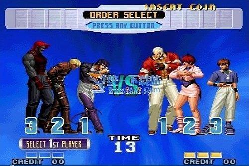 拳皇十周年纪念版图1