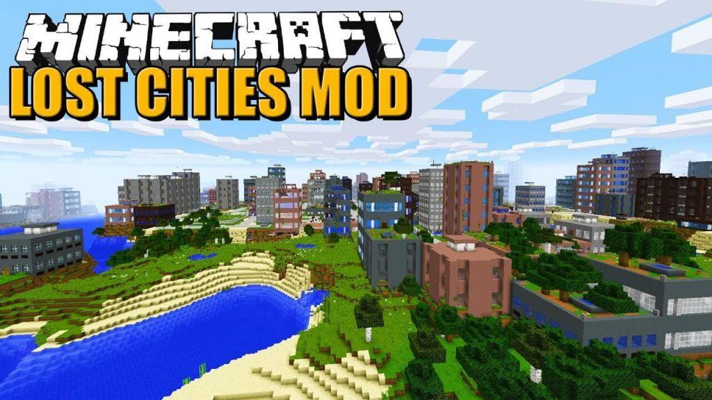 我的世界失落城市(The Lost Cities)MOD图1
