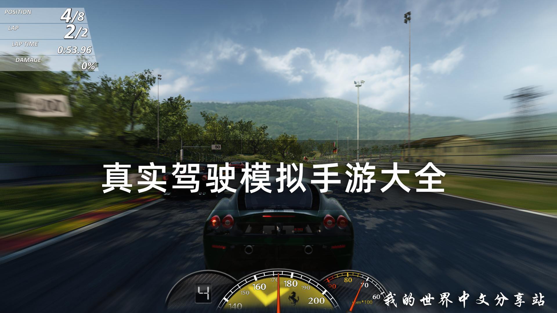 真实驾驶模拟器手游